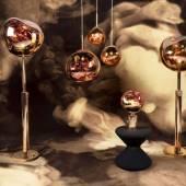 Collection MELT cuivre chez Tom Dixon