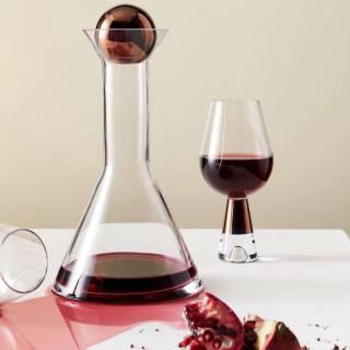 Carafe à décanter le vin TANK / Verre Cuivre / Tom Dixon
