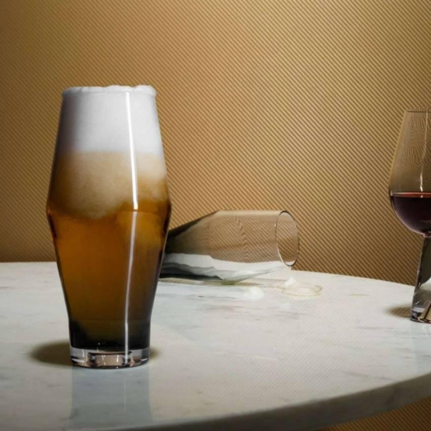 Verre à bière TANK - Par 2 / Verre Noir / Tom Dixon