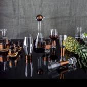 Collection verre art de la table TANK cuivre