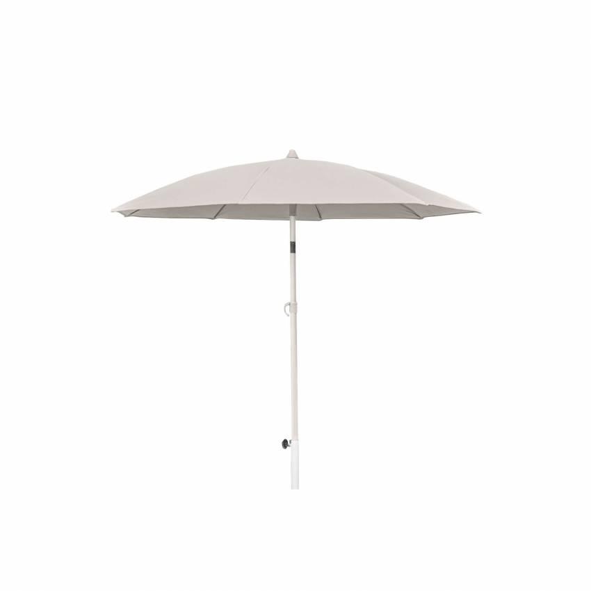 Parasol droit ONR / Ø. 2 m / Gris Sable