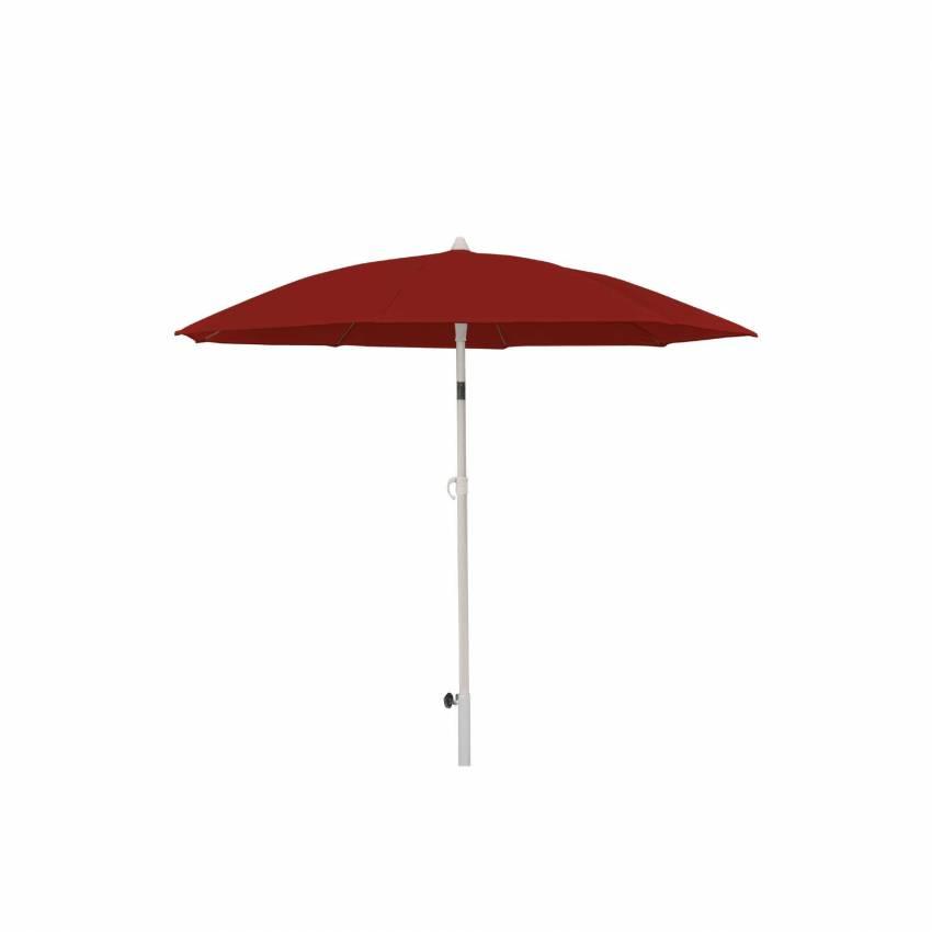 Parasol droit ONR / Ø. 2 m / Rouge