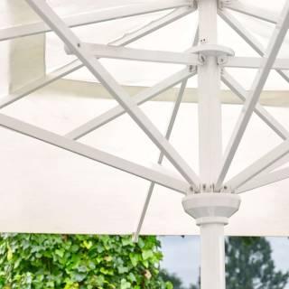 Parasol de terrasse RIA / 400 x 400 cm / Beige - Sable