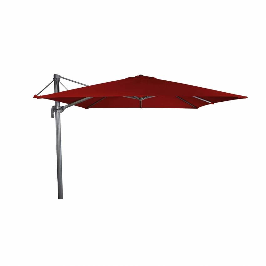 Parasol de terrasse FLEX déporté / Toile Rouge