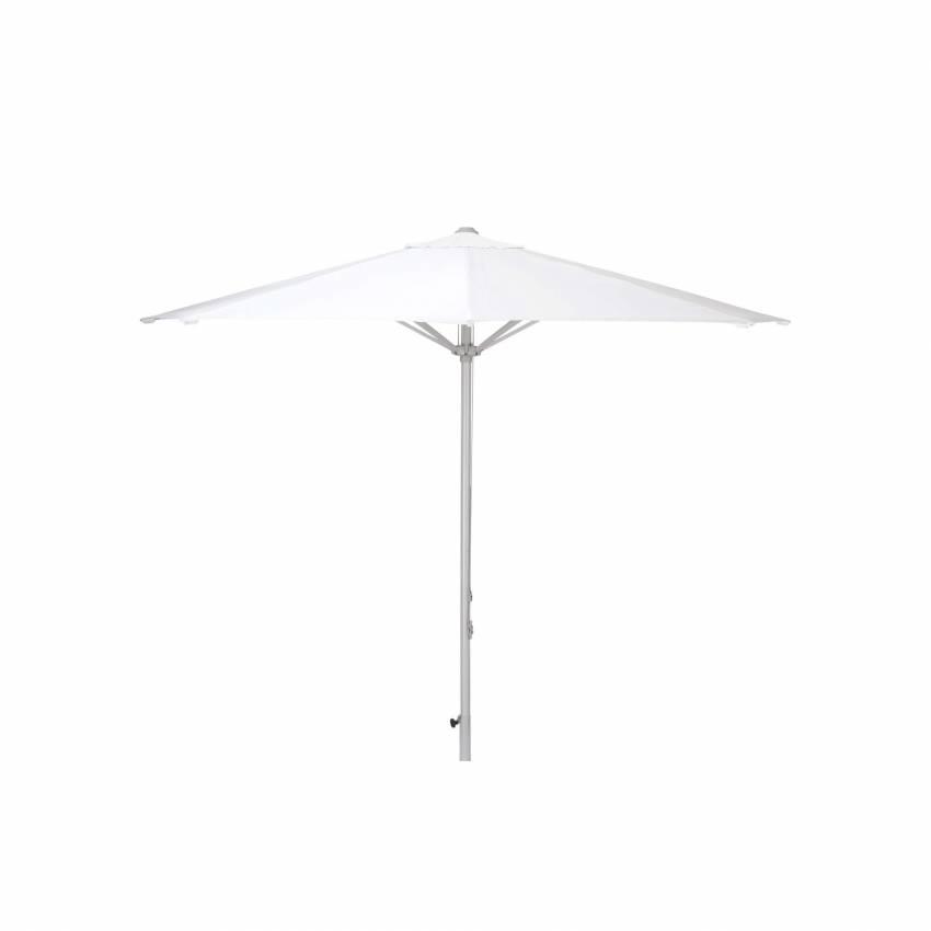 Parasol droit VIRGO / Ø 300 cm / Blanc