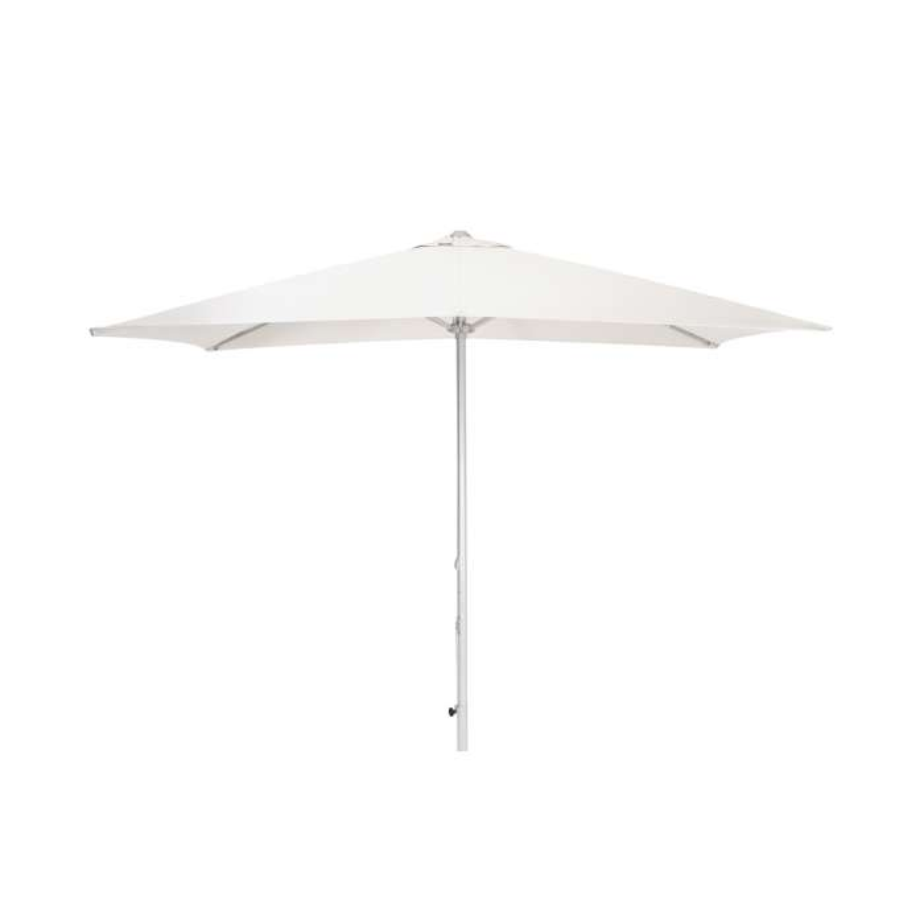 Parasol rectangulaire VIRGO / 300 x 200 cm / Blanc