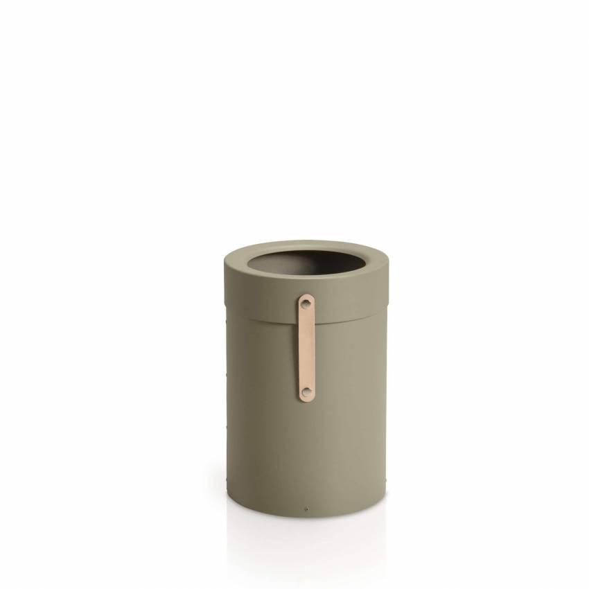 Poubelle à déchet BINTHERE / Métal / Vert / Mizetto