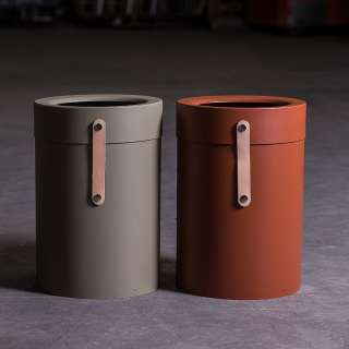 Poubelle design BINTHERE / Métal / Terracotta / Mizetto