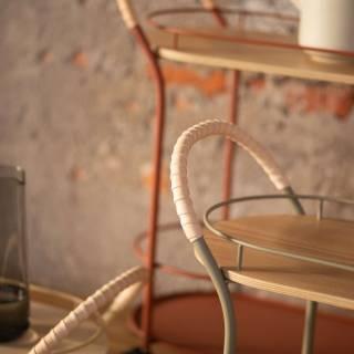 Chariot de cuisine BISTRO - 77,8 / Métal Vert / Mizetto