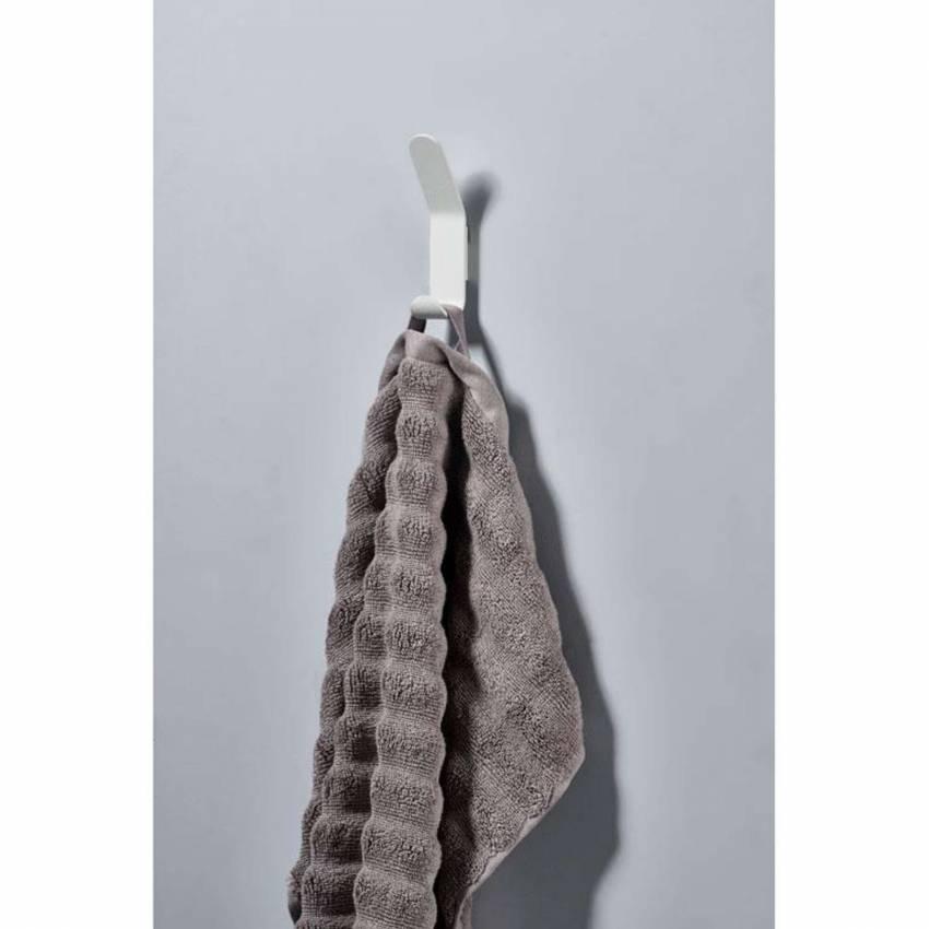 Patère A-HOOK - H. 7,5 cm / Métal / Blanc / Zone Denmark