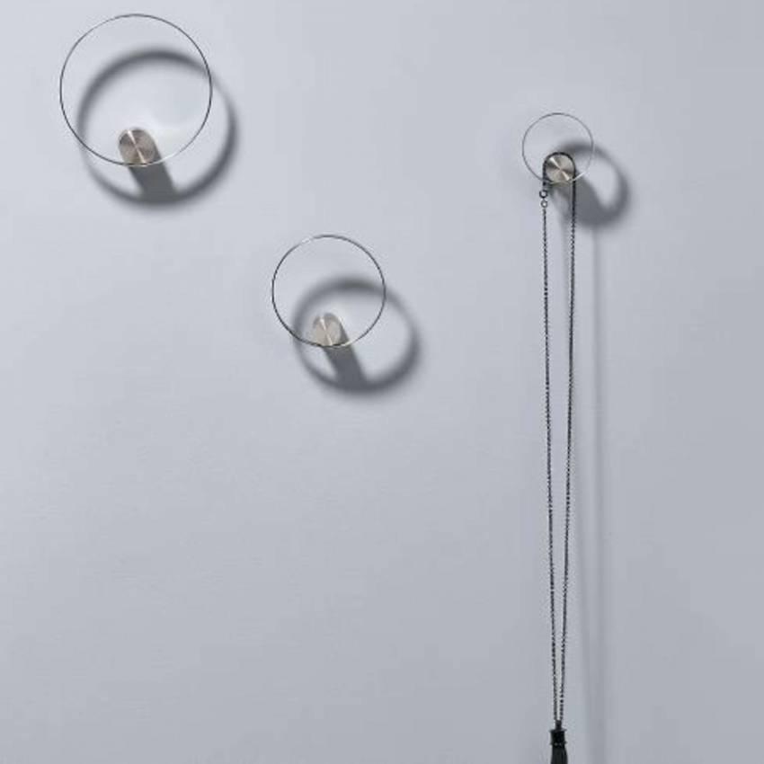 Crochet HOOKED ON RINGS / Métal / Chrome / Zone Denmark