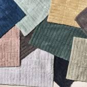 Tapis de bain TILES / Coton / 15 coloris / Zone Denmark