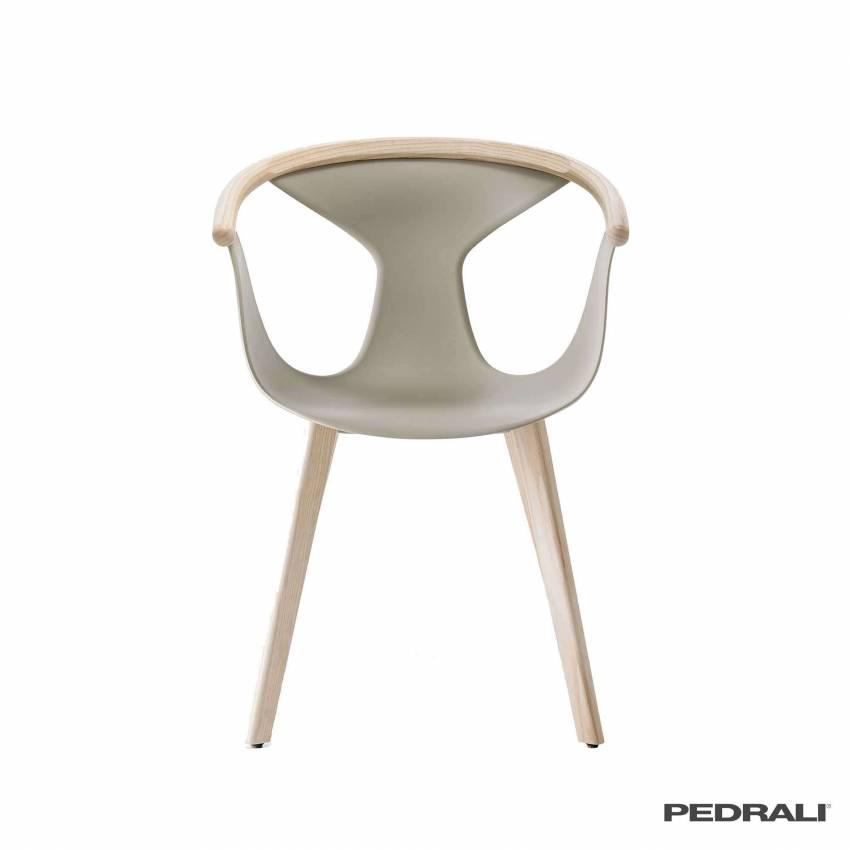 Chaise salle à manger FOX 3725 / Sable-Frêne / Pedrali