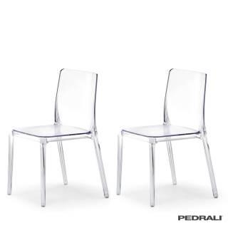 Chaise d'intérieur BLITZ 640 / Transparent / Pedrali