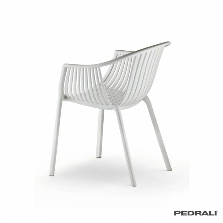 Chaise outdoor TATAMI 306 / Blanc / Pedrali