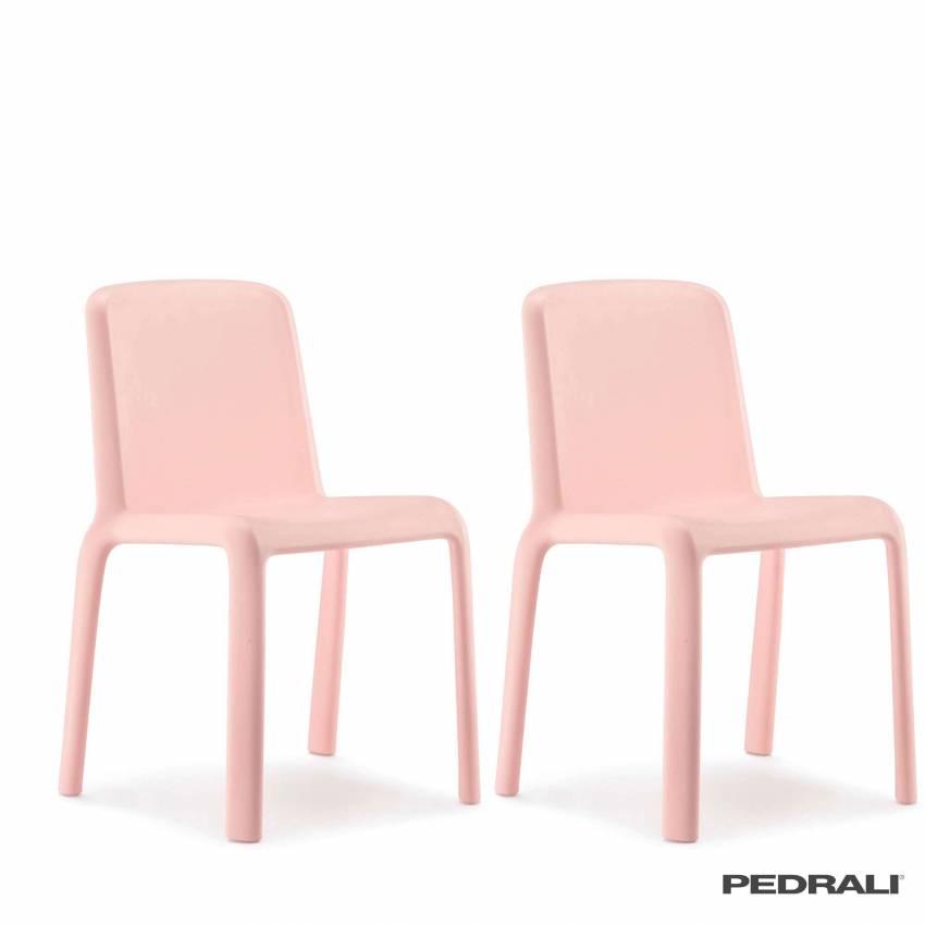 Chaise pour enfant SNOW 303 / Rose / Pedrali
