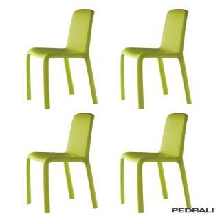 Chaise de jardin SNOW 300 / Vert / Pedrali