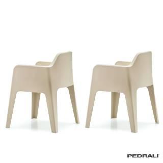 Chaise PLUS 630 - Vendue par 2 / Beige / Pedrali