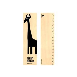 Marque Page en bois SAFARI BOOK