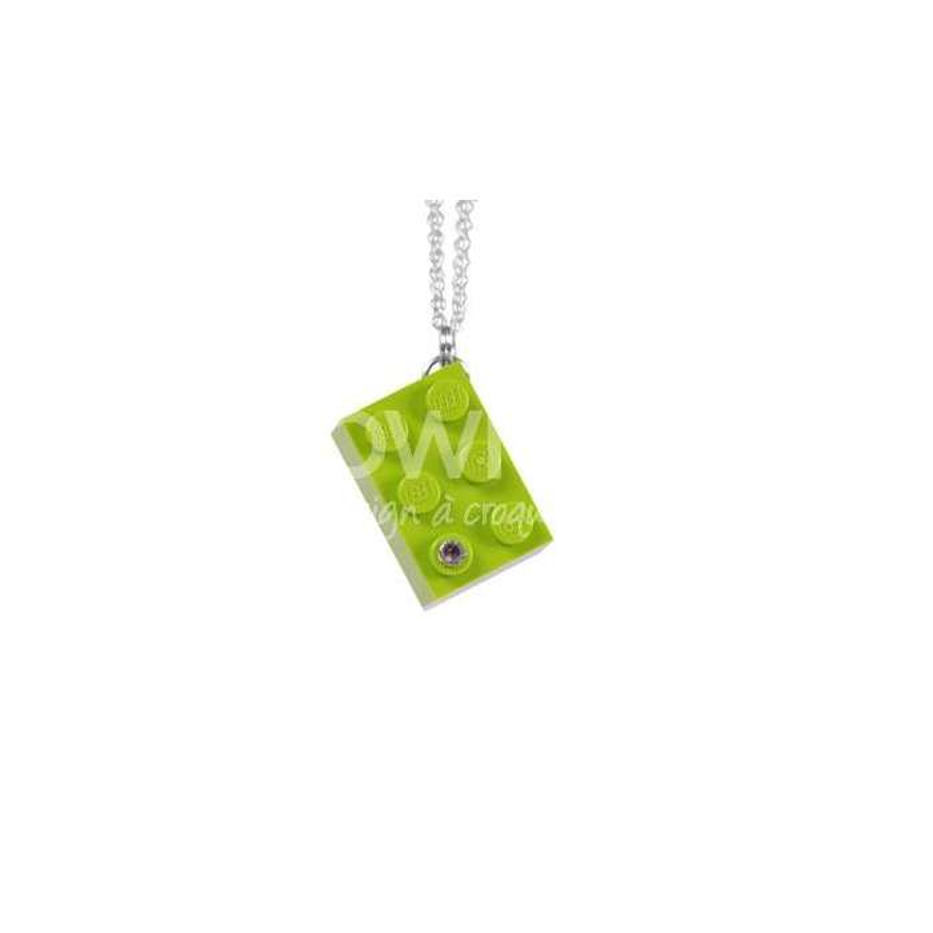 Sautoir Légo / Vert