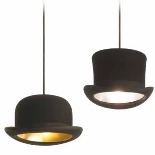 Suspension chapeau melon JEEVES / Noir / Innermost