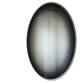 Eno Studio / Miroir rond FADING Noir - Ø 55 cm